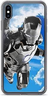 Tony Ironman Stark Avengerss Comic Superhero Stan-Lee Movie Mark 42 Black and White Anti-Scratch Shockproof Case for iPhone 6/6s