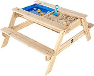 Plum Surfside Wooden Sand and Water Picnic Table