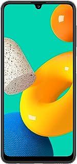 هاتف سامسونج جالاكسي M32 بشريحتي اتصال - 128 جيجا، 6 جيجا رام، ال تي اي، ابيض (نسخة السعودية)