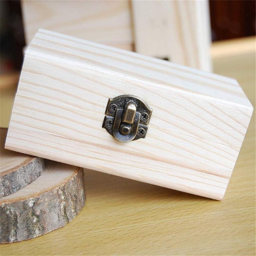スケッチカレッジ統合するエッセンシャルオイルストレージボックス 品質の木製エッセンシャルオイルストレージボックス安全に油を維持するためのベスト 旅行およびプレゼンテーション用 (色 : Natural, サイズ : 10X6X5CM)