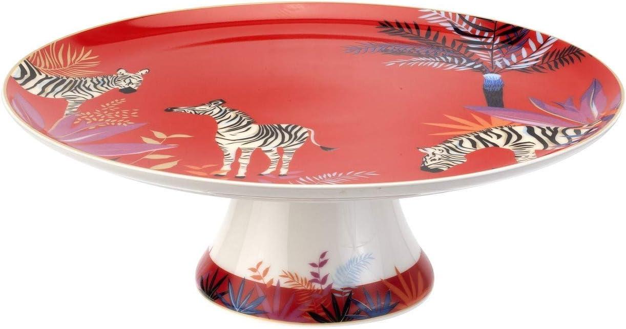 Portmeirion Home Gifts Regular dealer New life Footed porcelain Cake Stand