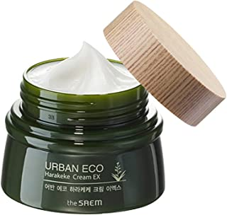 [the SAEM] Urban Eco Harakeke Cream 60ml - Quick Hydration Soft Melting Texture Facial Cream, Intensive Moosturizing Natur...