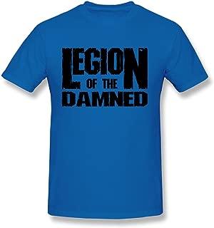 WunoD Men's Legion Of The Damned Logo T-shirt