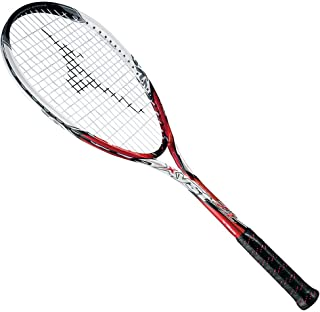 MIZUNO(ミズノ) ソフトテニスラケット ジスト Z1 63JTN511 レッド×ホワイト
