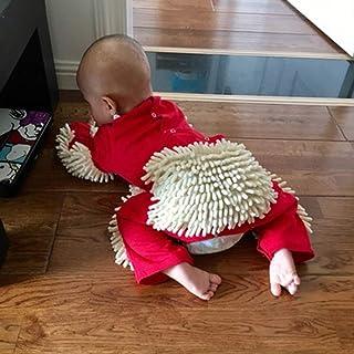 KESOTO Baby Kleidung Reinigungsmop Overall Strampler Jumpsuit Kinder Spielanzug Schneeanzüge zum Krabbeln