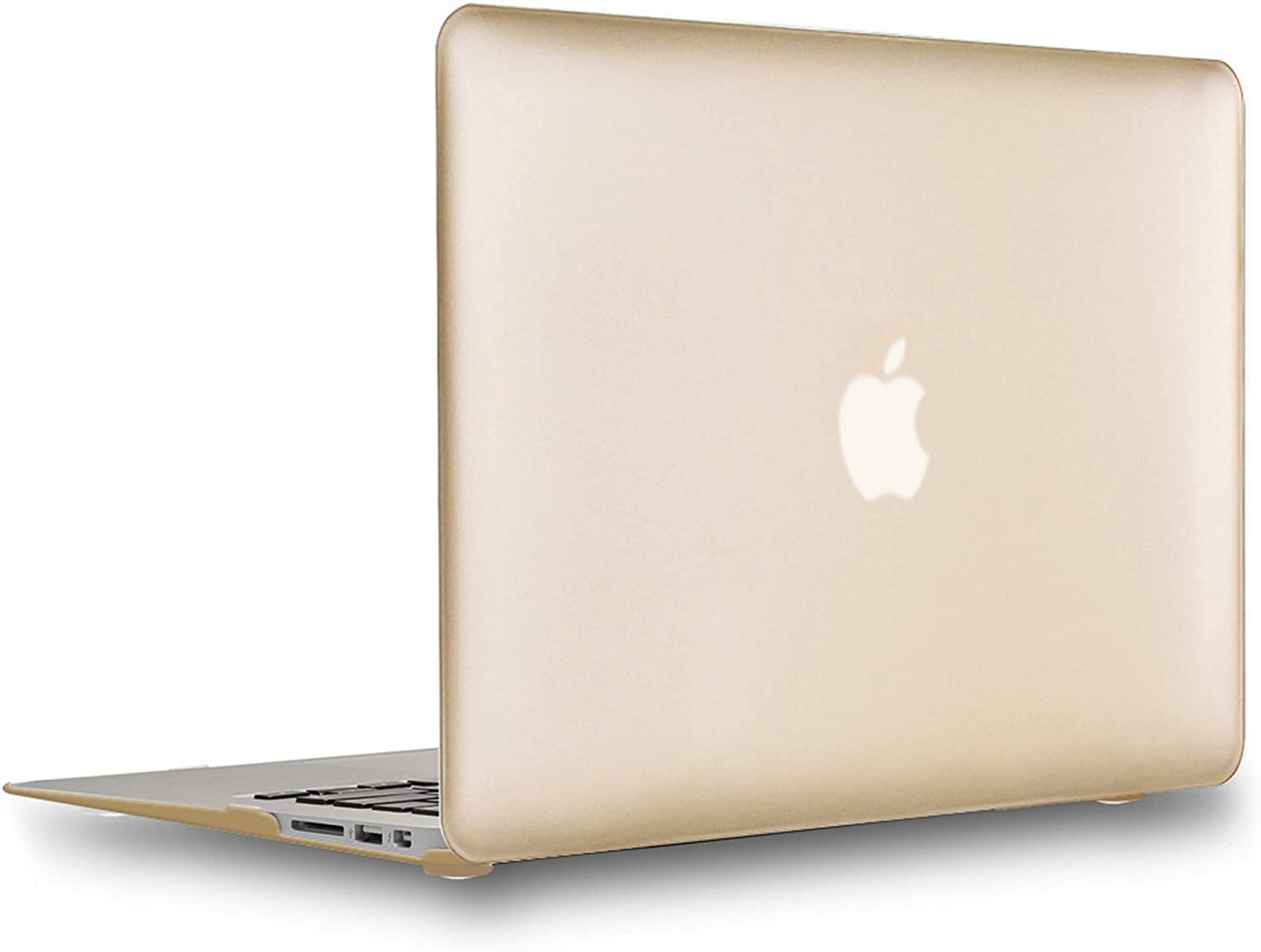 UESWILL Luxury Gold Excellence Matte Hard Cover Purchase with Case Shell Compatible