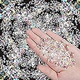 Favoby 4000 Pcs Bling Diamond Acrylic Gem...