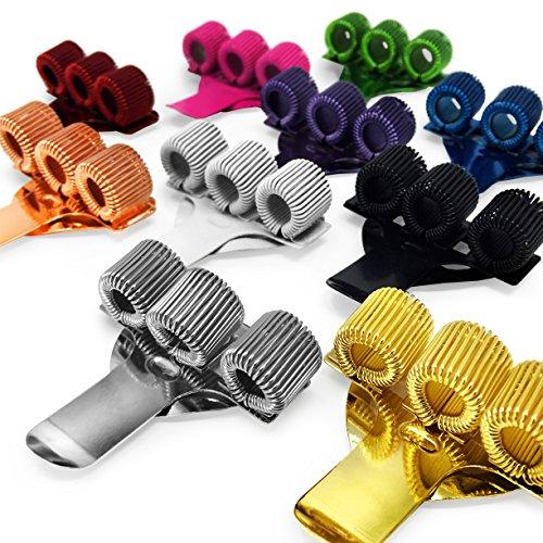 Farbige Dreifach-Stift mit Taschen-Clip–ideal für Ärzte/Krankenschwestern–1von jeder Farbe–10Stück