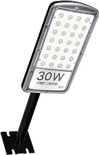 Ankishi Farolas LED para Exterior 30W 3000LM, Foco Módulo Super Brillante Impermeable IP67 6500K, Farola con soporte de montaje, Reflector Lámpara para Exterior, Floodlight Jardín Patio.(Blanco Frío)