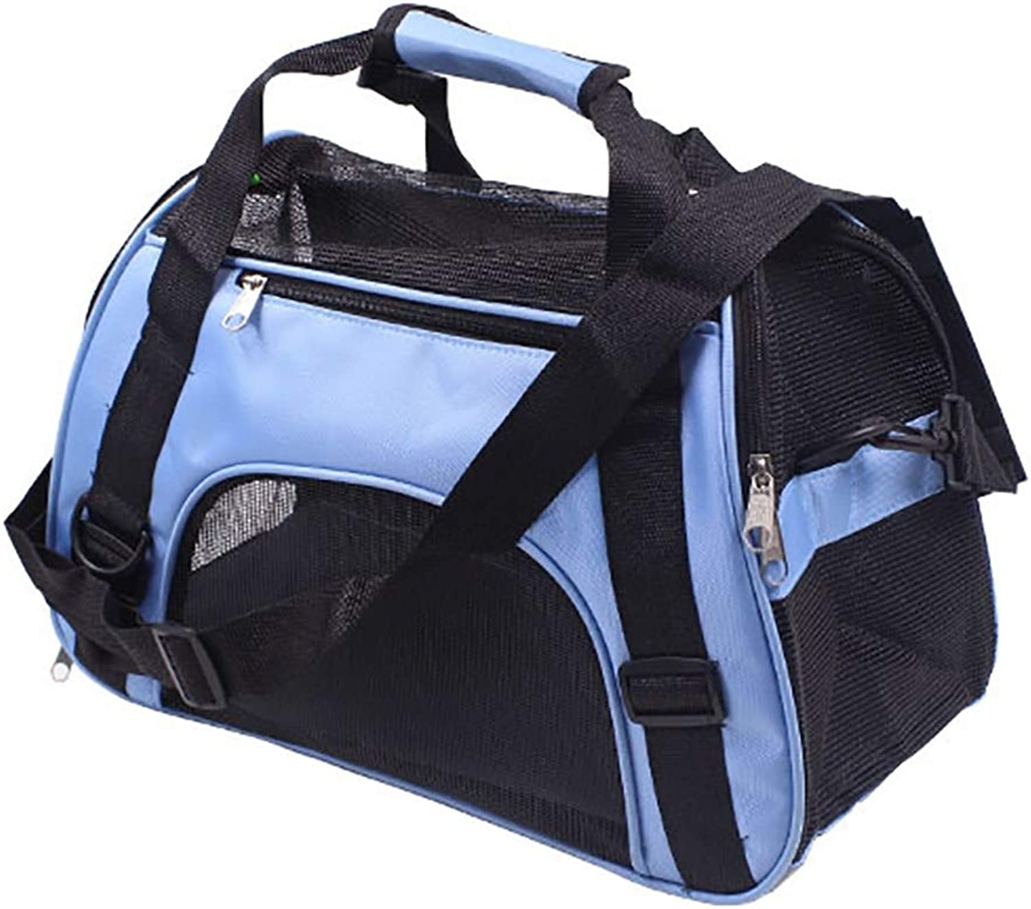 LOHUA Airline Approved Soft Sided Pet Carrier,Pet Supplies,For Small Dogs, Cats, Puppy, Soft Sided Collapsible Pet Travel Carrier For,Airline Approved Pet Travel Bags