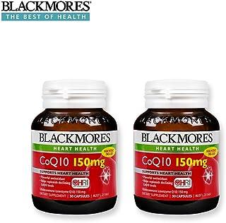 澳洲 Blackmores 澳佳宝 辅酶Q10 150mg 30粒 ?;ば脑?(两瓶)