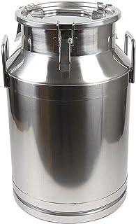 201 Certe en acier inoxydable canette de 60 litres du lait de cautionnement à la caulet à vin 15,8 gallon,60L