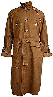 LovezLeather Blade 2 0 4 9 Rick Deckard Brown Cotton Trench Coat Costume