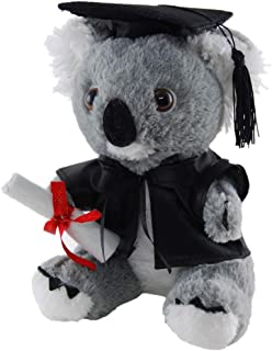 Elka Australia 60111-18GRAD Graduation Koala Soft Plush Toy, 18 cm