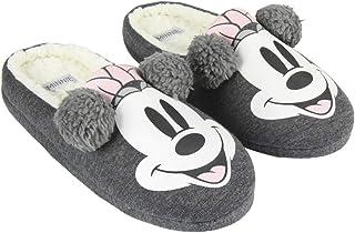 ARTESANIA CERDA Zapatillas de Casa Abierta Premium Minnie, Niñas