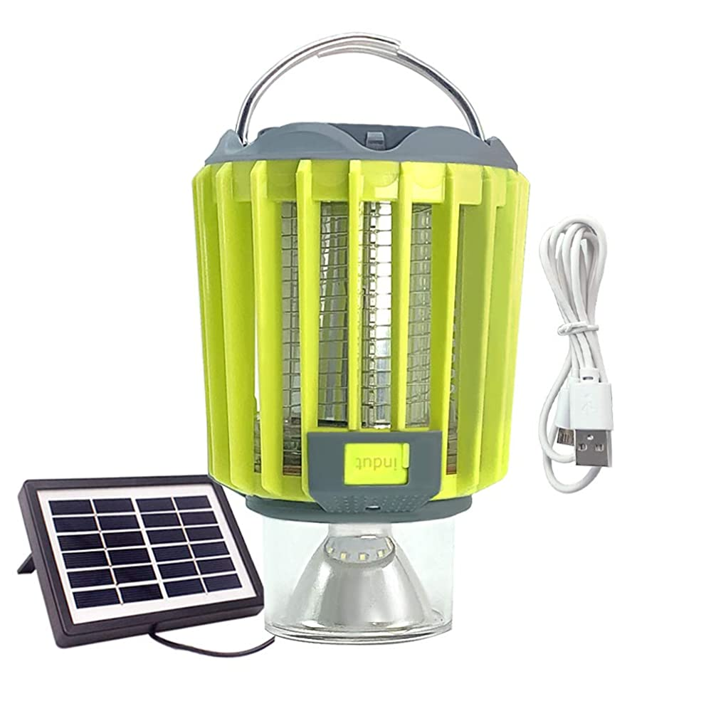 JEERUI Solar Camping Lantern-4 in 1with USB Charge Flashlight Portable IP67 Waterproof Outdoor Solar SOS Emergency Light for Camping Hiking Jogging Fishing Hurricanes Outages