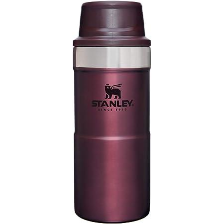 STANLEY(スタンレー) クラシック真空ワンハンドマグII 0.35L ワインレッド 保冷 保温 頑丈 ワンタッチ式 マグ コーヒー クリスマス ホリデー 06440-083 (日本正規品)