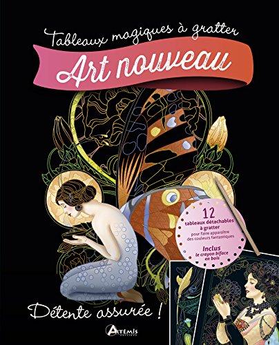 Art nouveau (TABLEAUX MAGIQUES À GRATTER)
