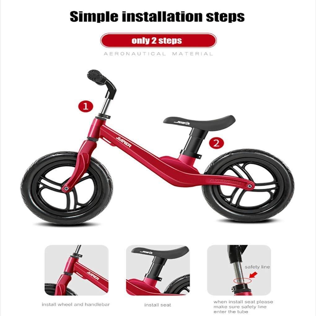 For el equilibrio de bicicletas 2 3 4 Años de Edad, sin pedal de ...