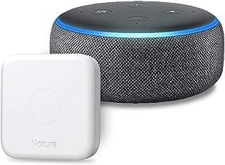 Echo Dot 第3世代 - スマートスピーカー with Alexa、チャコール + Nature スマートリモコン Remo 3