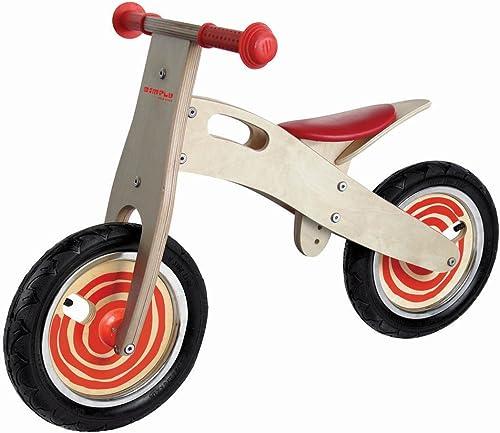 exclusivo Vicky Tiel Ulysse 22006 22006 22006 - Bicicleta de madera sin ruedas para aprendizaje, Color rojo  ahorrar en el despacho