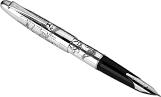 PILOT Sterling Collection Fountain Pen, Turtle Design Barrel, Broad Nib (63417)