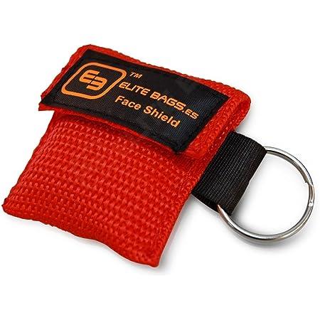 MASK'S Elite Bags - Borsa per la rianimazione cardiopolmonare, colore: rosso