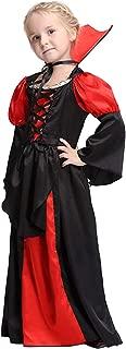 Girl Vampire Costume Halloween Witch Dress Up Cosplay Vampiress