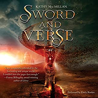 Sword and Verse audiobook cover art