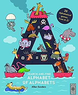 Search and Find Alphabet of Alphabets by [AJ Wood, Mike Jolley, Allan Sanders]