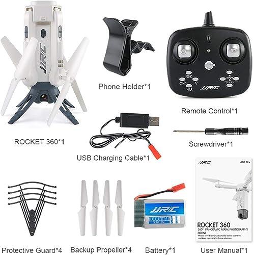 Heaviesk für JJR   C H51 RC Hubschrauberrakete wie 360  iFi FPV Selfie Elfie-Drohne mit Kamera HD 720P H nstand RC Quadcopter