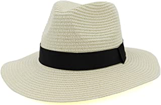 YSNRH Hat Straw Sunhat for Women Foldable Comfortable Large Brim Summer Beach Outdoor Hat Anti-UV Protection Visor Hats Sun Hat Floppy Wide Brim Beach Hat Camping,Outdoor,Hiking,Summer