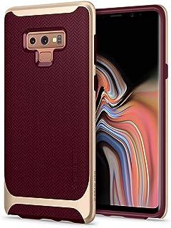Samsung Galaxy Note 9 Case Cover, Spigen, Flexible Protection, Hard Bumper, Burgundy