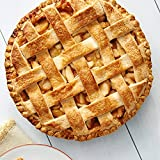 Andy Anand Apple Pie 10' Baked Fresh Daily, Made in Traditional Way, Amazing-Delicious-Decadent Gourmet Food & Greeting Card, Birthday Valentine, Christmas, Mothers Fathers Day, Anniversary (4.5 lbs)