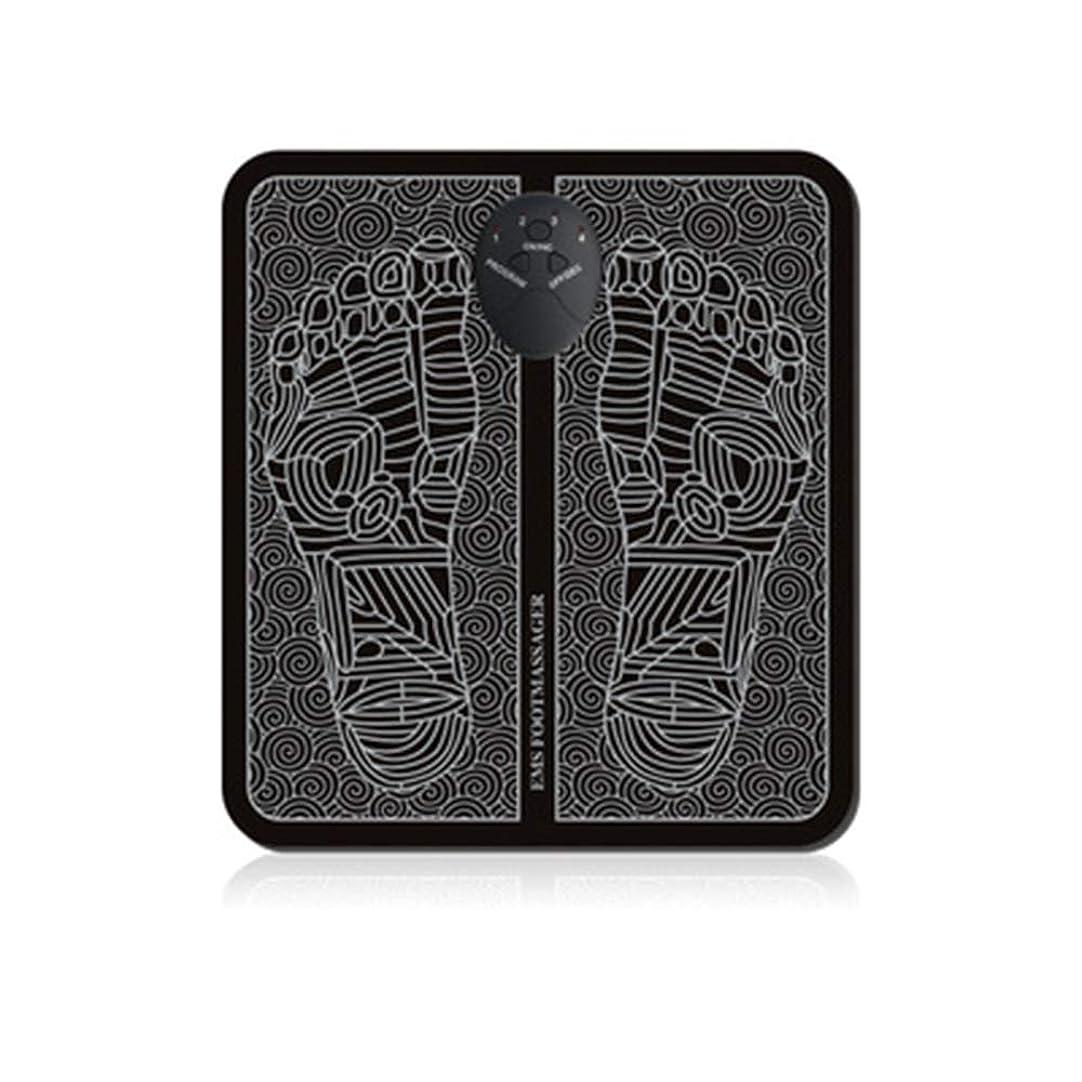 同情おっと床EMSの足のマッサージャー、折る携帯用電気マット、血循環の筋肉苦痛救助を促進する電子筋肉刺激物USB充満,B