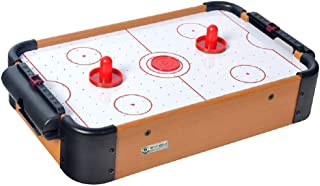 Emob® Tabletop Air Ice Hockey Board Game Toy for Kids with 2 Pushers and 2 Pucks