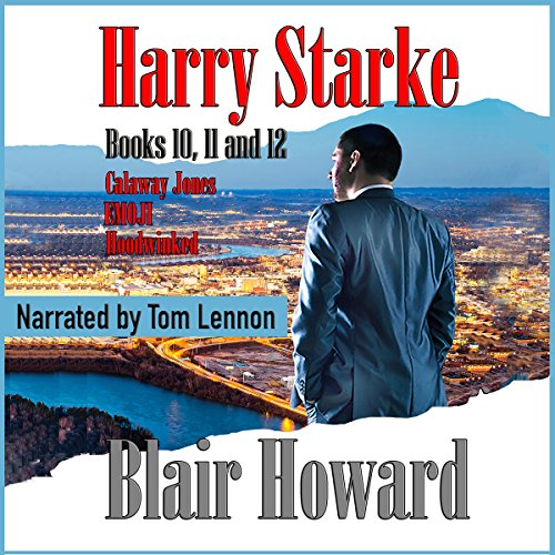 The Harry Starke Series: Books 10 - 12 cover art
