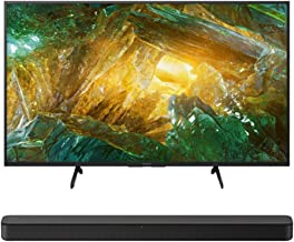 $796 » Sony XBR-43X800H 43-Inch LED 4K Ultra HD HDR Android Smart TV HT-S100F Soundbar with Integrated Tweeter Bundle (2 Items)