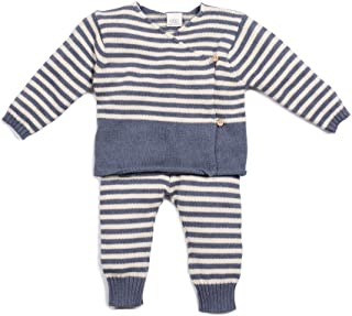 EGG BABY Boy's Egg Ryan Baby Set, 18M Indigo