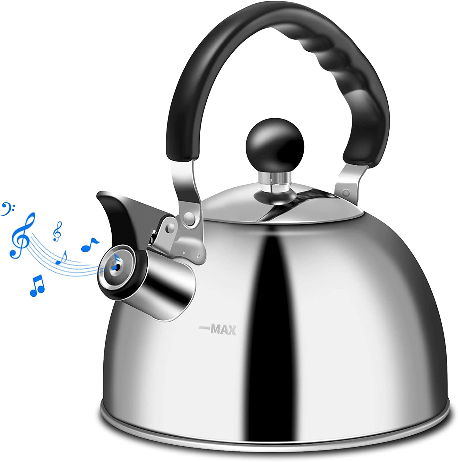 Tea Kettle Alternative dealer Stovetop Whistling Grade Stainles Food At the price of surprise Teapot