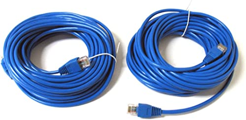 discount ANiceS sale 2 Pack wholesale 30' ft 30FT RJ45 CAT5 CAT5E LAN Network Cable for PC Ethernet Router Switch online