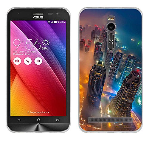 FUBAODA für Asus ZenFone 2 ZE550ML Deluxe ZE551ML Hülle Hülle, Ultra Dünn Handyhülle Soft Premium-TPU Durchsichtige Schutzhülle BackSlimfür Asus ZenFone 2 ZE550ML Deluxe ZE551ML 5.5inch