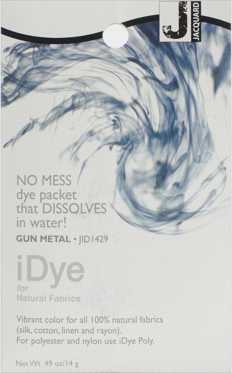Jacquard Products 100% 5 ☆ popular Natural Gun iDye Rapid rise Dye Fabric Metal