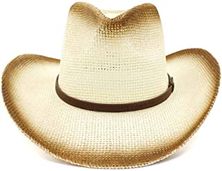 Xiang Ye Fashion Sun Hat Beach Hat Ms. Outdoor Beach Hat Sun Visor Western Painted Cowboy Hat National Wind