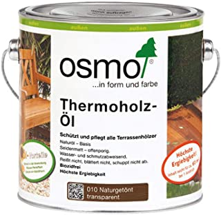 Osmo Thermoholz-Öl Naturgetönt 010 2,5 Liter