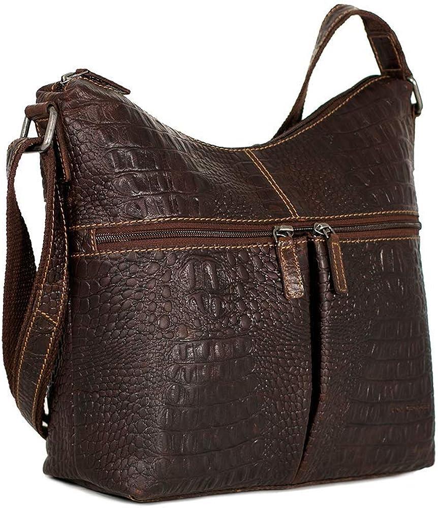 Hornback Croco Hobo Daily bargain sale Bag #HB814 55% OFF