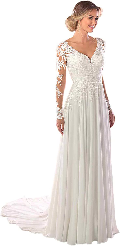 Tmaoomo Women's A Line Lace Tulle Wedding 2021 Bride Dresses Tulsa Mall SALENEW very popular for