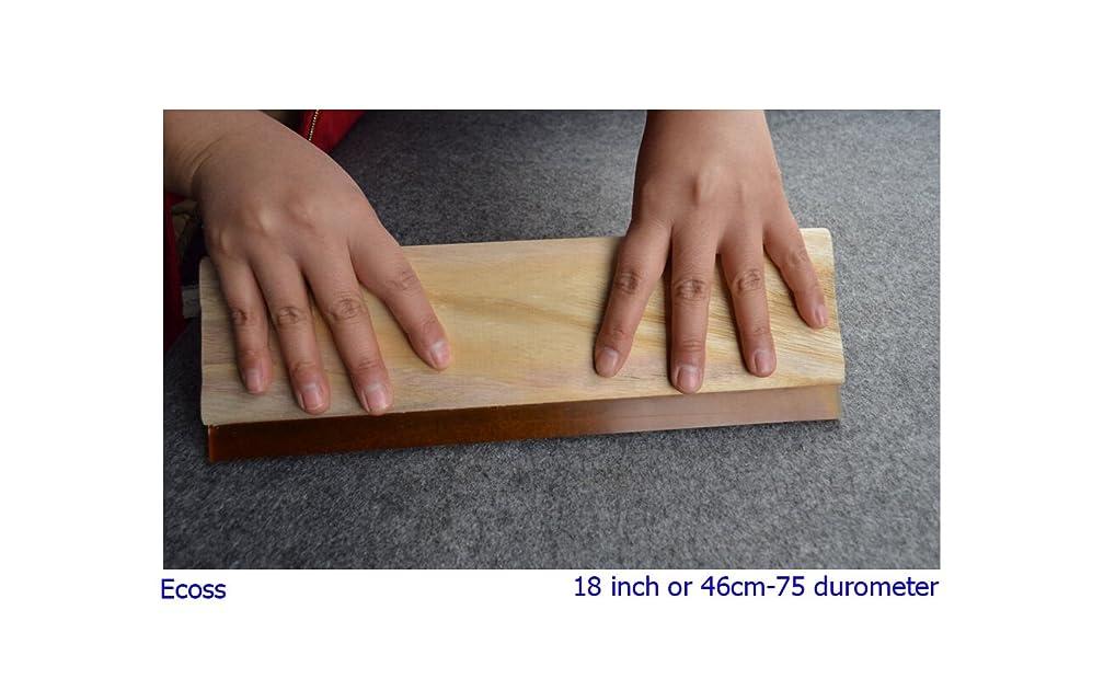 1 pc 18 inch (46cm) Silk Stencil Screen Printing Squeegee Wood Screen Ink Scraper