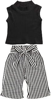con Stampa di Unicorno DODOYA Vestito per Bambina Pantaloni e Leggings Top Maglietta con Nappa a Maniche Lunghe