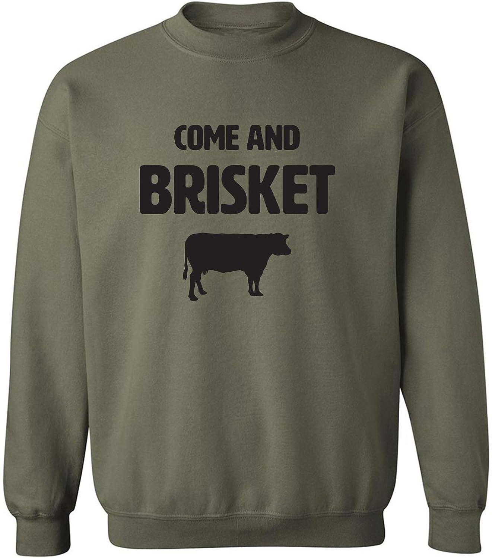 zerogravitee Come and Brisket Crewneck Sweatshirt